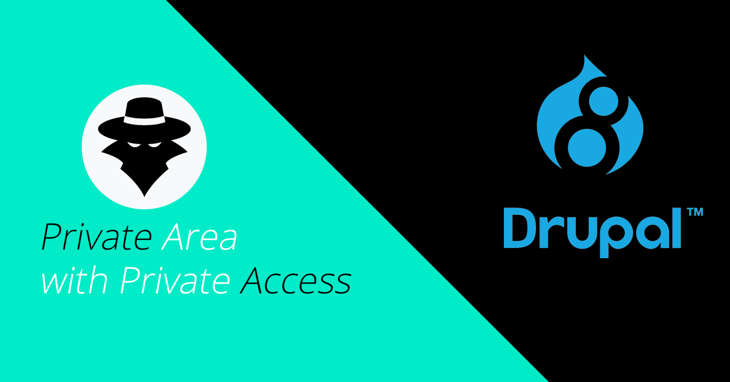 DRUPAL 8 | Private Area with Private Access * Choosepizzi net